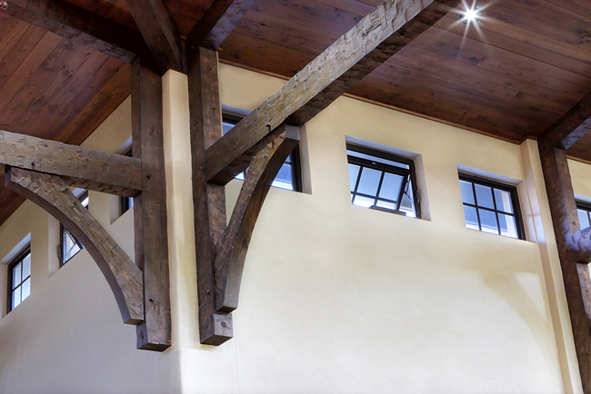 Barn Ceiling Detail